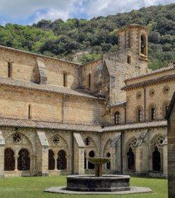 claustro del monasterio de irantzu