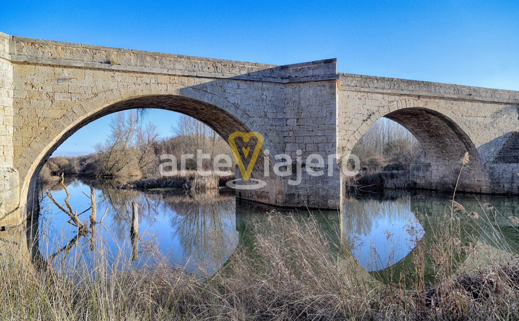 puente de itero, río pisuerga