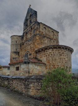 ábside, iglesia de san salvador de escaño