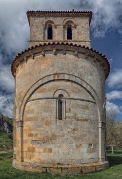 ábside románico, ermita de nuestra señora del valle