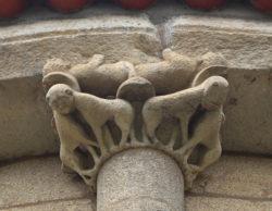 capitel, monasterio de ferreira de pantón
