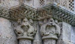 capiteles con animales