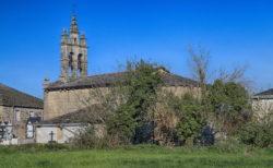 románico, iglesia de santa maría de corvelle