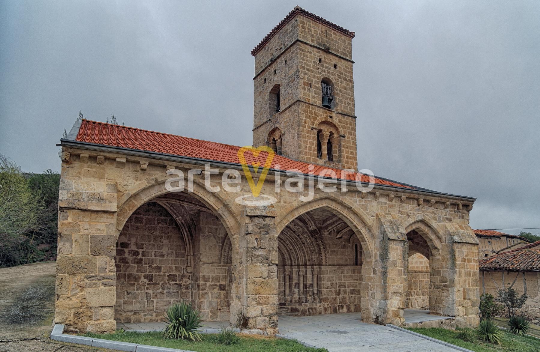 iglesia de valdazo, la bureba