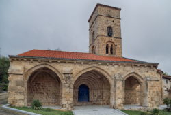 iglesia de valdazo, románico burgos
