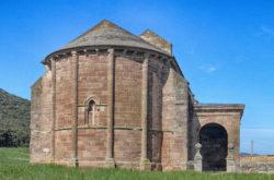 iglesia de learza, ábside