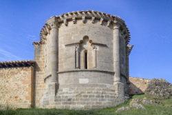 ábside, encío, iglesia de san cosme y san damián