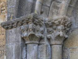 capiteles, iglesia de olleta
