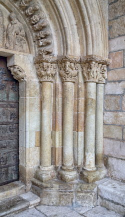 portadas del románico burgalés