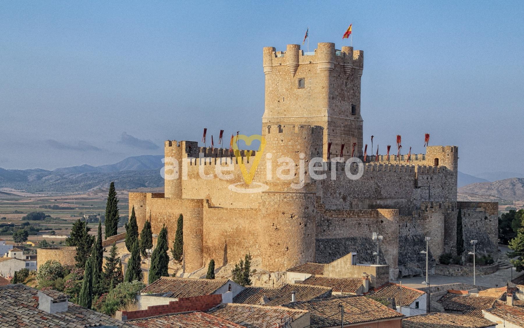 castillo de la atalaya, villena, alicante