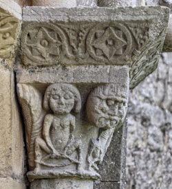 detalle románico