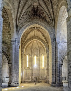 interior, monasterio de santa cruz de la zarza