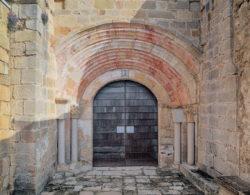 portada de la iglesia de encío