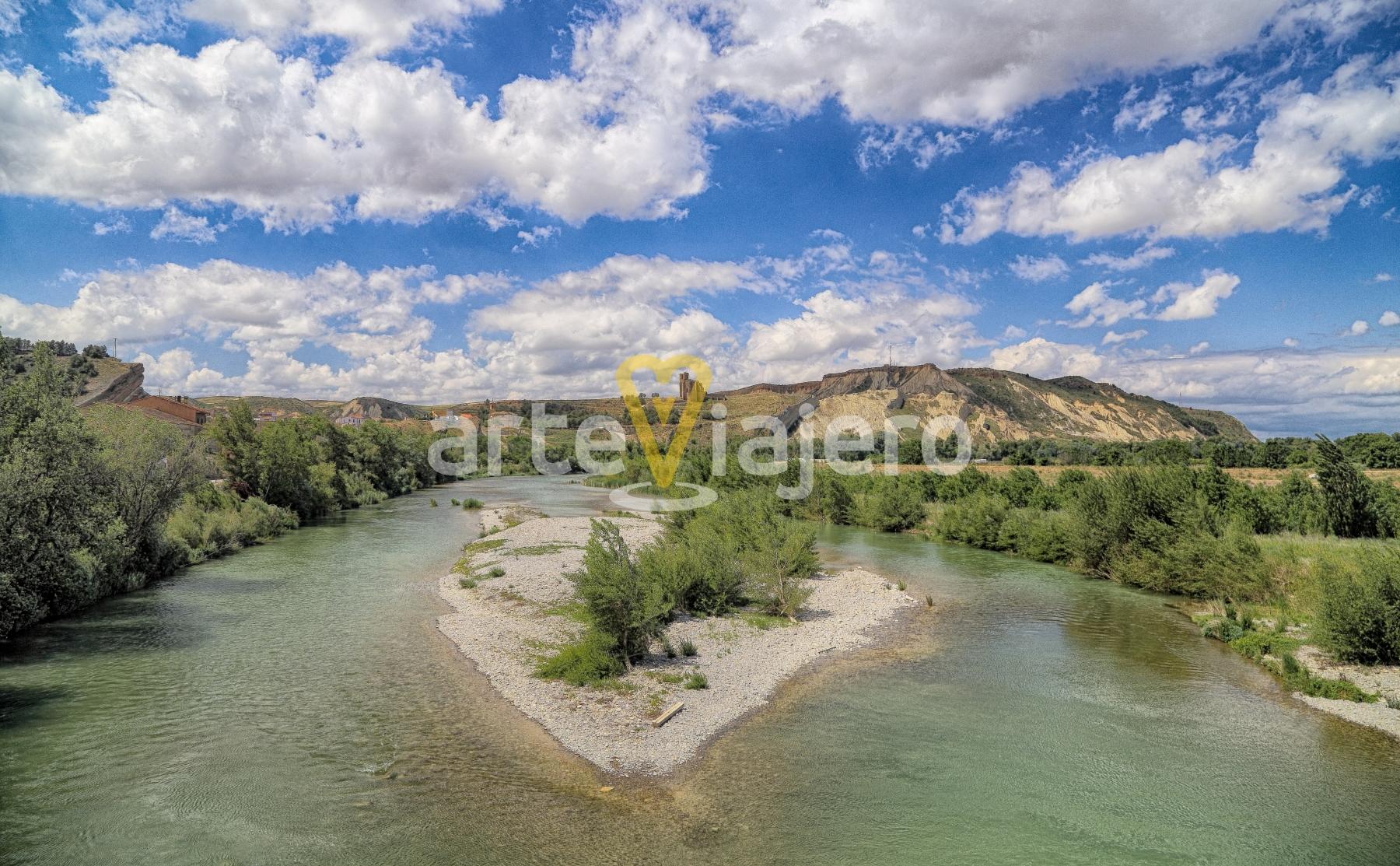 río aragón, navarra