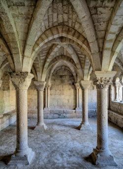 sala capitular, monasterio de santa cruz de la zarza