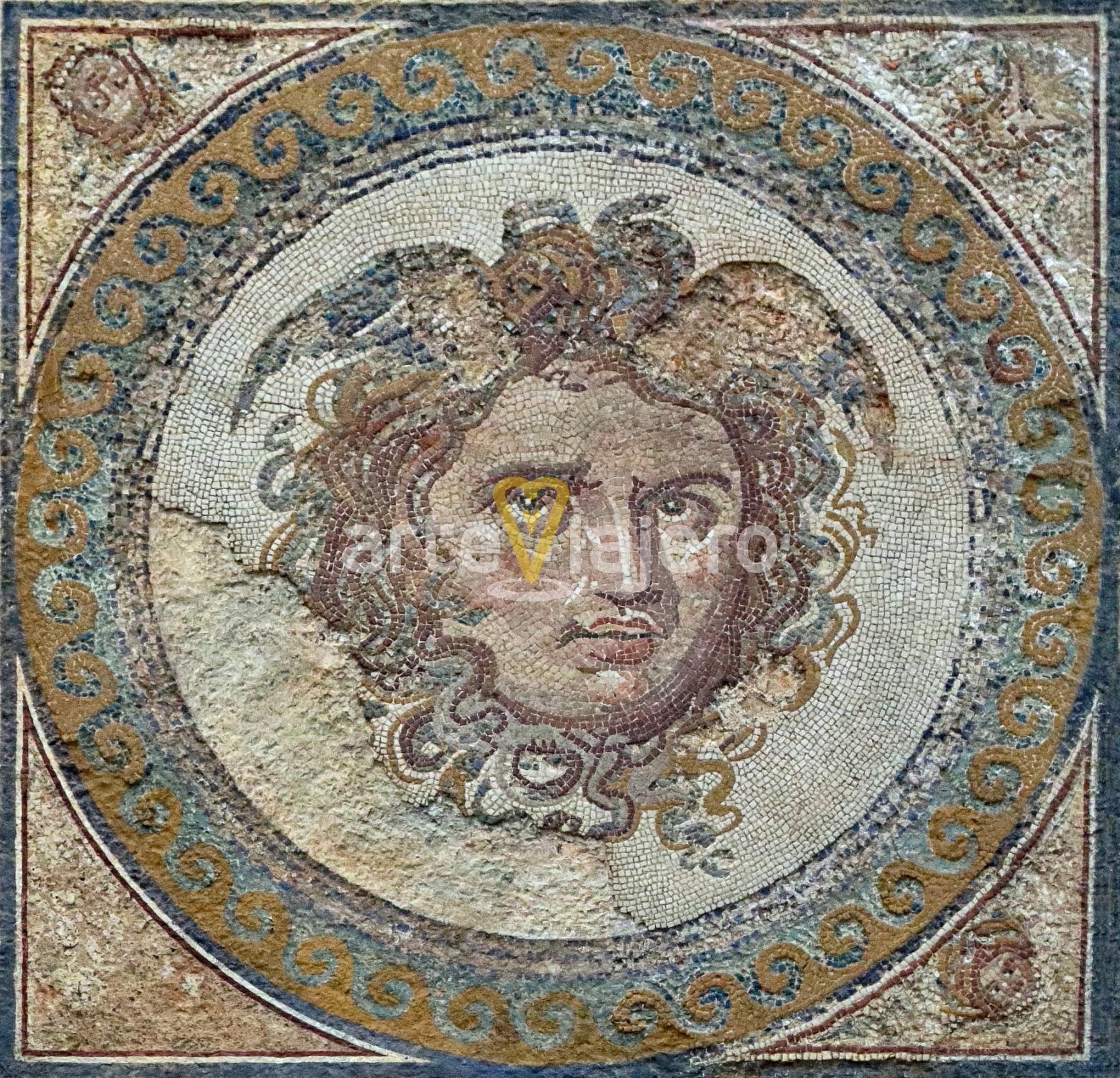 mosaico de medusa, tarragona