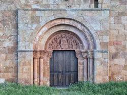 portada románica, tozalmoro