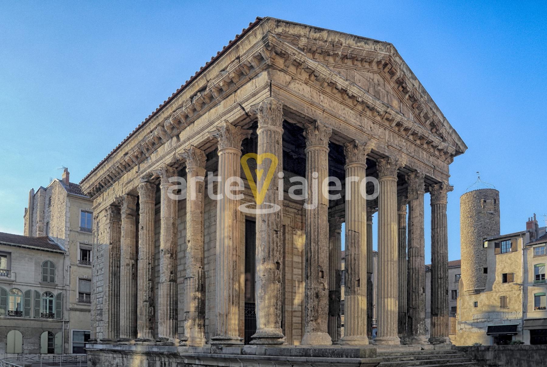 templo de augusto y livia