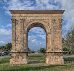 arco romano de berà