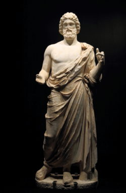 asclepio, dios de la medicina
