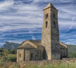 església sant climent de coll de nargó