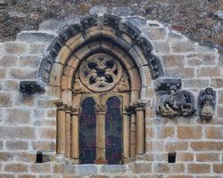 ventana gótica betrén