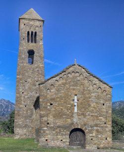 iglesia románica coll de nargó