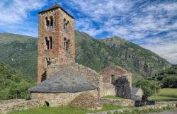 église romane mérens les vals