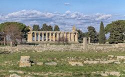templo de atenea. paestum
