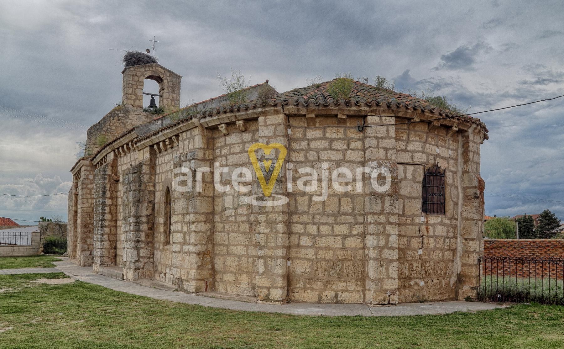 ermita románica, grijota