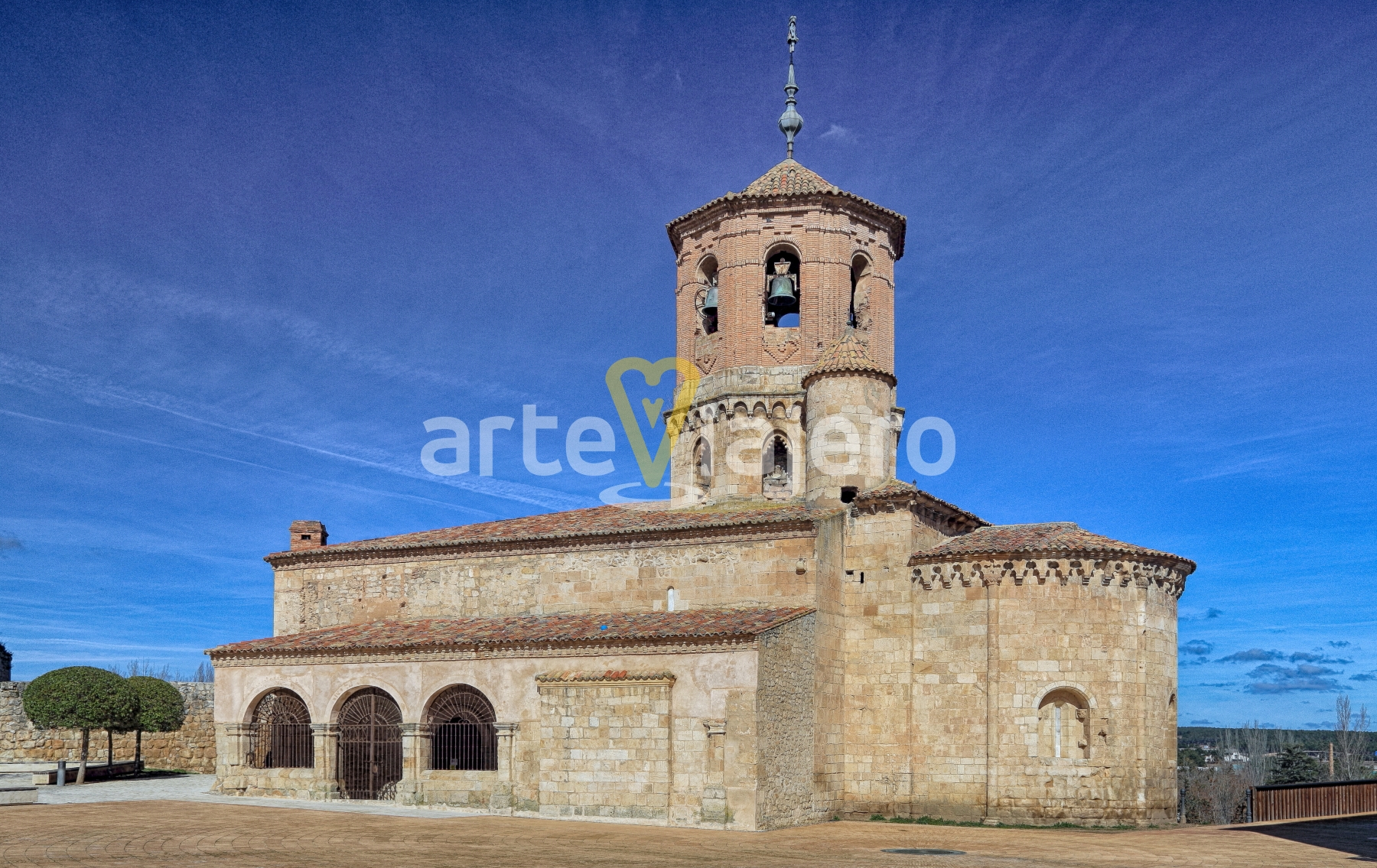 iglesia de almazán