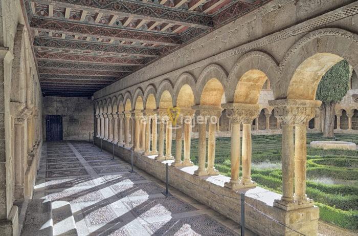claustro románico, santo domingo de silos