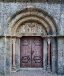 portada abadía de fontfroide