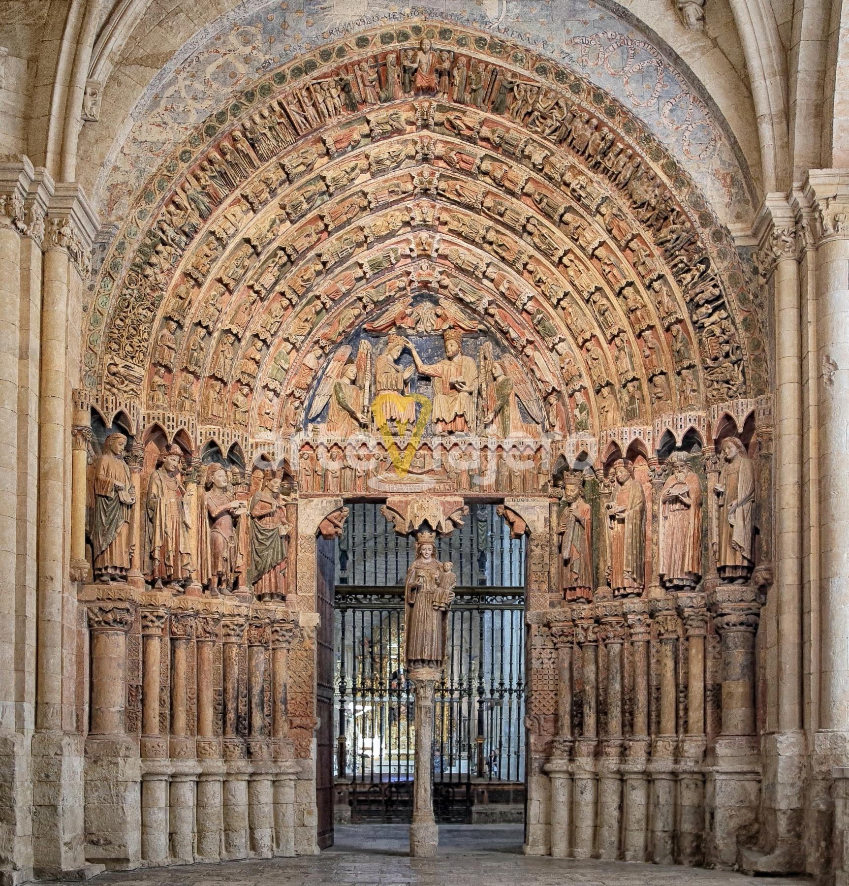 portadas románicas