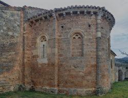 ábside de la iglesia de abajas