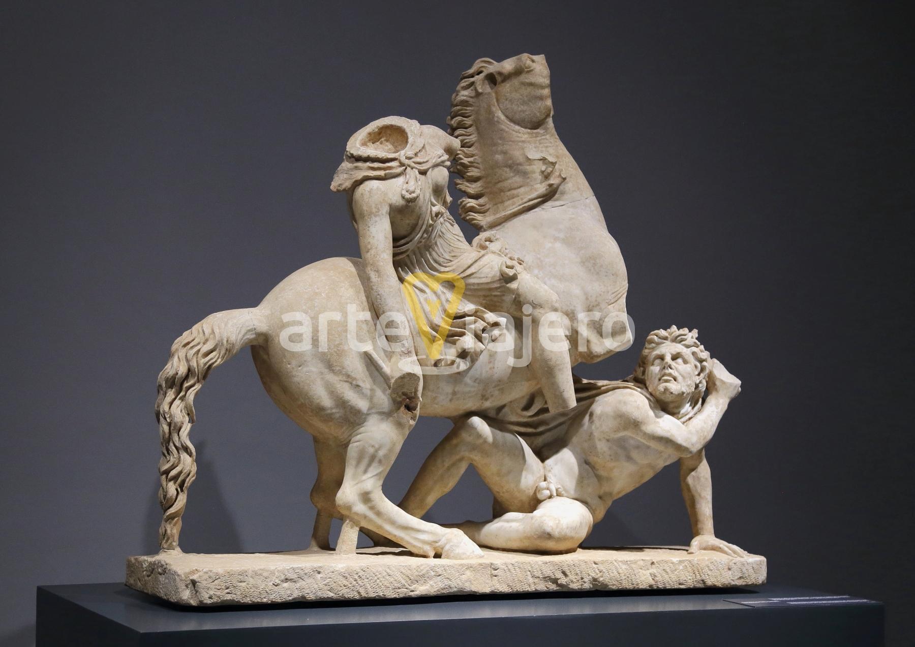 amazona y bárbaro