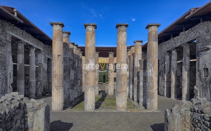 casa de marco epidio rufo, pompeii