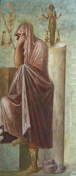 pintura sacrificio de ifigenia