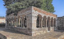 claustro románico sant domènec