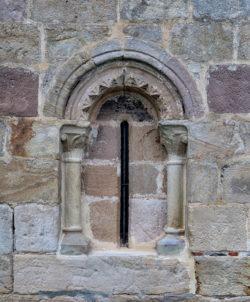 ventana románica, quitanahernando