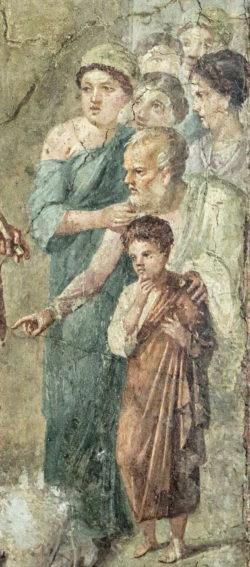 pintura al fresco, pompeya
