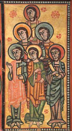 apóstoles románico