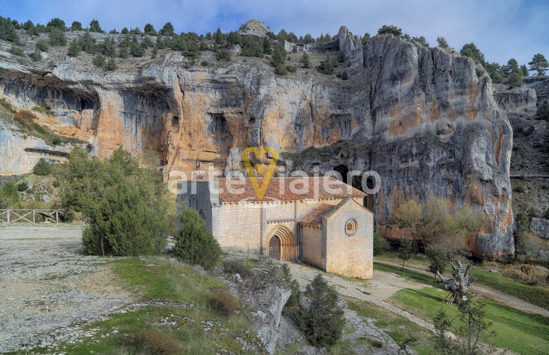 ermita de san bartolomé de ucero