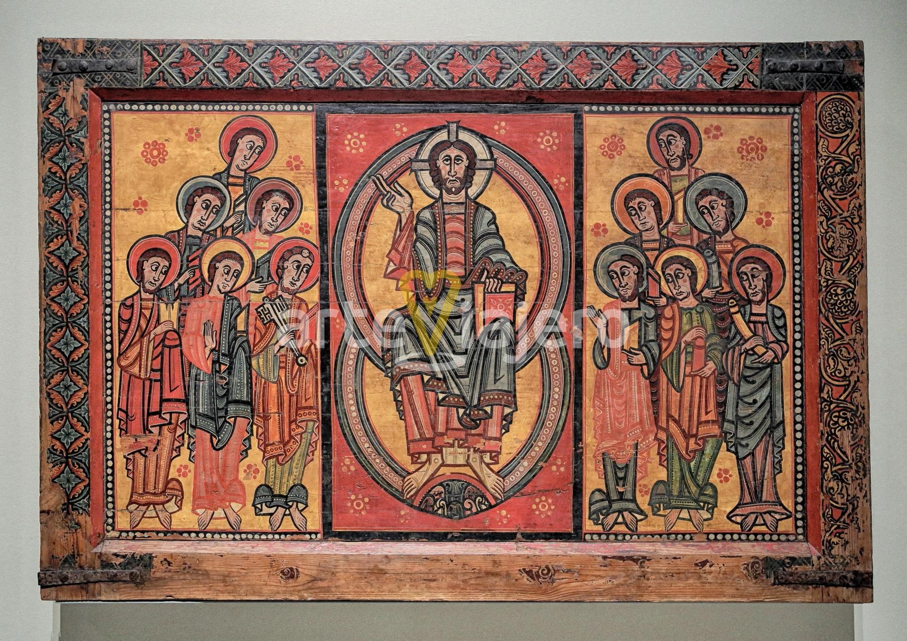 frontal de los apóstoles