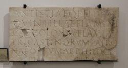 inscripción romana