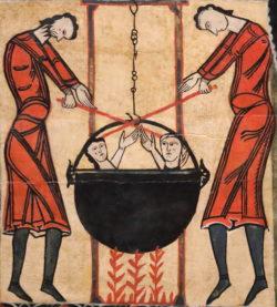 martirio san quirce y santa julita