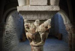 chapiteaux, prieuré de serrabone