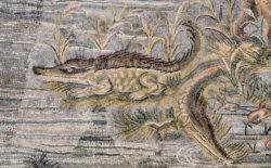 mosaico cocodrilo