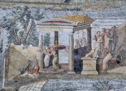 mosaico diosa isis