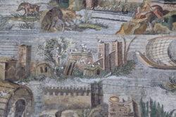 mosaico romano con el nilo